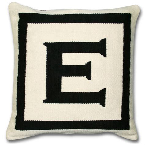 Letter Pillows by Jonathan Adler Letter Pillow Inc