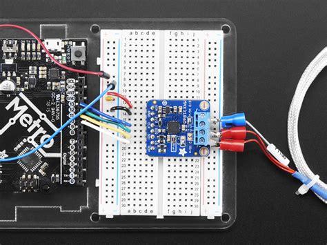 adafruit pt rtd temperature sensor amplifier max