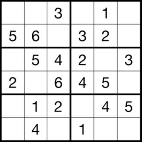 printable sudoku grade 2 sudoku 6x6 sudoku pinterest pre school activities