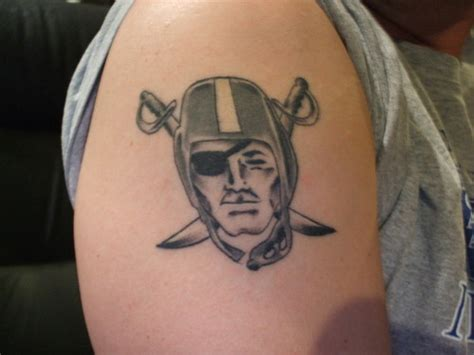 raiders tattoos gallery for gt oakland raiders tattoos