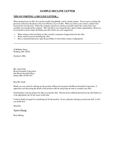 Invitation Letter To Form An Association Decline Invitation Letter This Letter Template Declines An Invitation To Serve On An