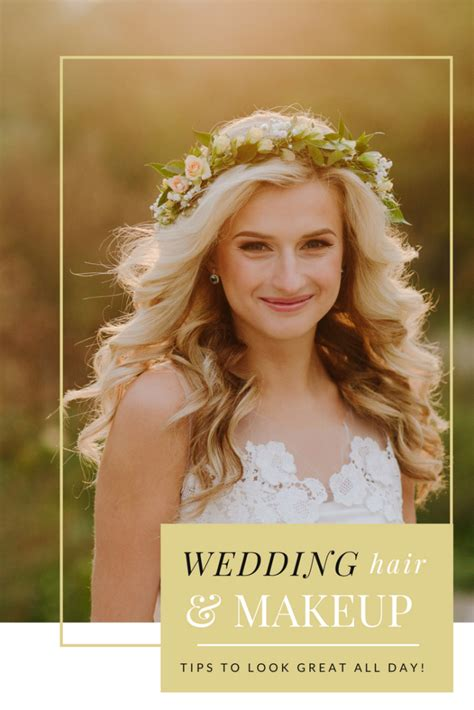 Wedding Hair And Makeup Tips by Wedding Hair And Makeup That Will Last The Whole Day My