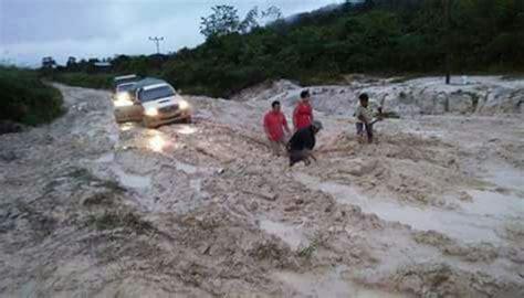 Nusa Utara Dari Lintasan Niaga Ke Daerah Perbatasan 1 Jalan Perbatasan Kaltara Rusak Gubernur Segera
