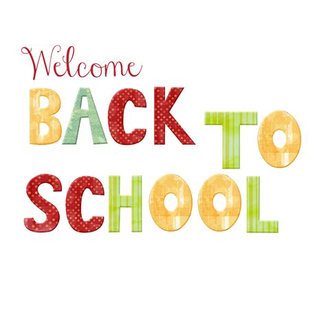 back to school clipart free welcome back to school free clip free