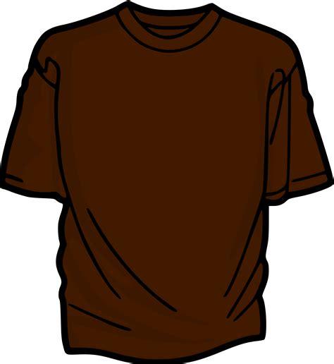 Brown T Shirt clipart brown t shirt