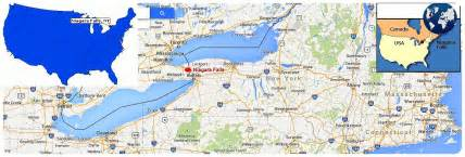 map of niagara falls borders pictures to pin on