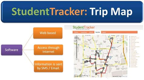 track your trip on a map bsg technology school tracking