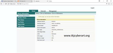 Berapa Memasang Wifi Indihome cara membatasi jumlah pengguna wifi di ont fiberhome tkj cyber
