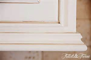 Kitchen Cabinet Moldings And Trim Updating 80 S Builder Grade Kitchen Cabinets Tidbits Amp Twine