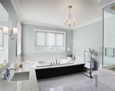 A Tranquil Bathroom   Colors, Blue and and Benjamin moore