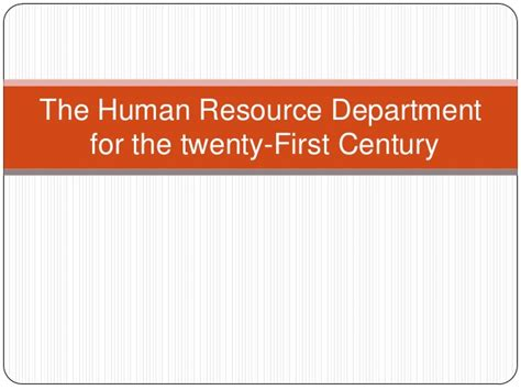 Department Code For Mba by The Human Resource Department