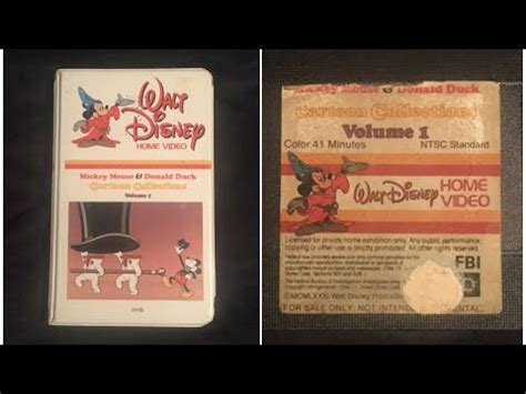 opening  mickey mouse  donald duck cartoon collections volume   vhs true hq youtube