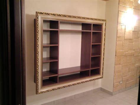 cornici mobili fai da te hobby legno mobili sospesi con cornice