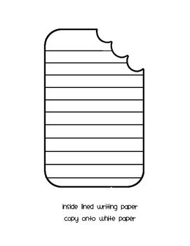 shaped writing template popsicle shaped writing template by sadler tpt