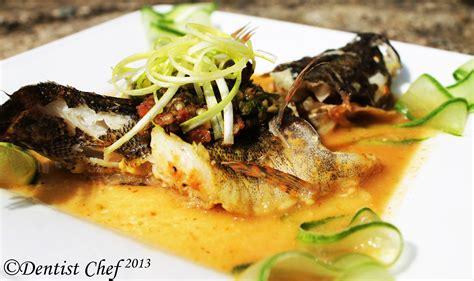 miso soybean fish recipe dentist chef