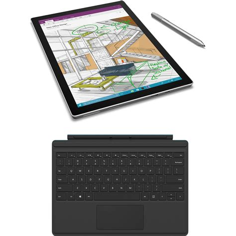 Microsoft Surface Pro Rugged by Microsoft 12 3 Quot Surface Pro 4 128gb Multi Touch Tablet B H