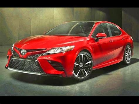 toyota camry 2018 2018 toyota camry xe and xse / all new