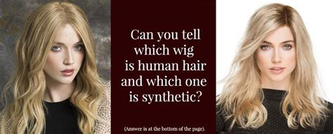 synthetic hair vs real human synthetic hair vs human hair wigs headcovers
