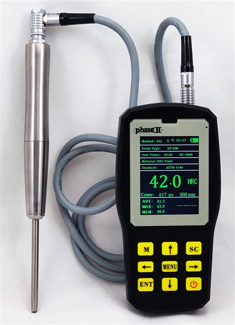 Ultrasonic Portable Hardness Tester Pht 6000
