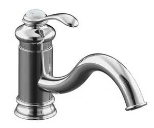 kohler fairfax single control kitchen sink faucet polished chrome handle pull down