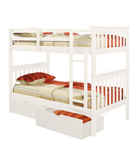 donco bunk beds donco kids white mission twin bunk bed
