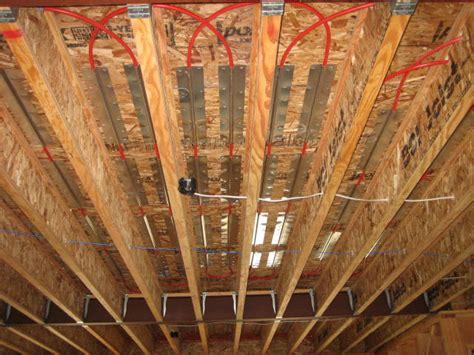 Energy Efficient Heating   Radiant Floor Installation From
