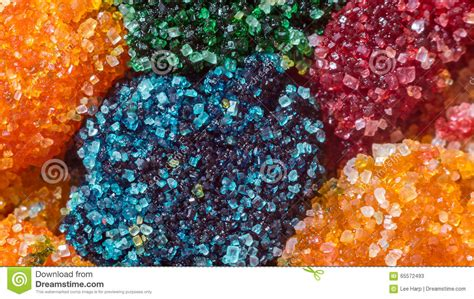 colored sugar crystals macro colored sugar crystals stock image image of food