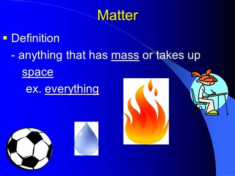 matter chemistry definition property states of matter ppt