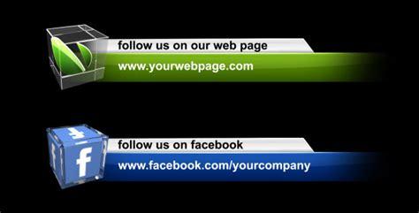 Social Media Lower Third Pack by VolkanKutlubay   VideoHive
