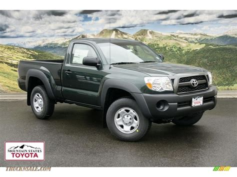 2011 Toyota Tacoma Regular Cab 2011 Toyota Tacoma Regular Cab 4x4 In Timberland Green