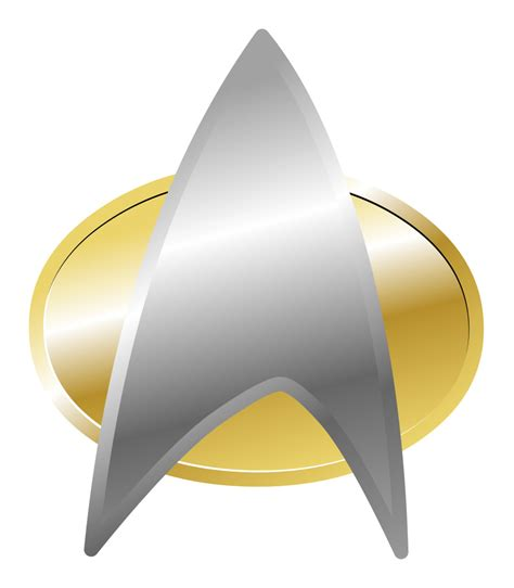 printable star trek badge star trek insignia at parabolic arc