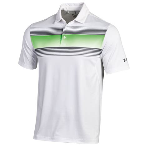 Tshirt Polo Armour Golf armour back 9 chest stripe golf polo shirt carl s