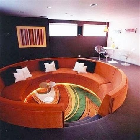 conversation pit couch go retro 10 grooving conversation pits from back in the day