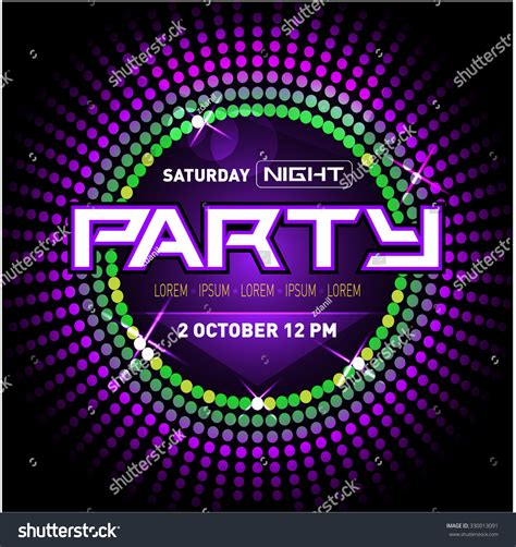 hip hop house party music party disco club flyer template your stock vector 330013091 shutterstock