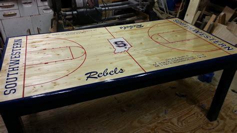 basketball coffee table rascalartsnyc