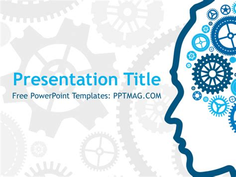 free knowledge powerpoint template pptmag