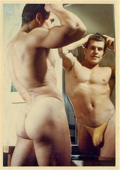 Male Models Vintage Beefcake Helmut Riedmeier Photographed By Champion Studio