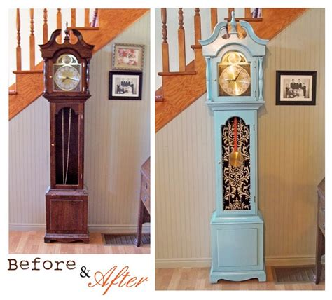 shabby chic grandfather clock finale week wild card crafts