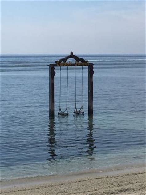 ocean swing ocean swings picture of hotel ombak sunset gili