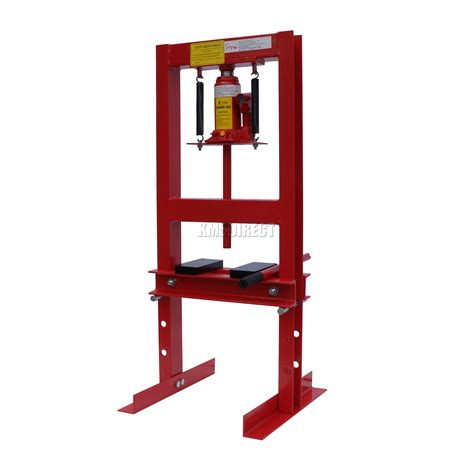 10 tonne hydraulic floor press new 6 ton tonne heavy duty hydraulic workshop garage shop