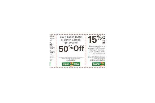 round table coupons 2018 san jose