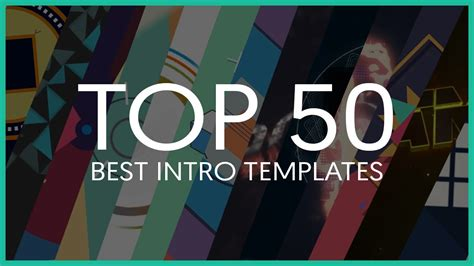 Top 50 Best Intro Templates Sony Vegas After Effects Cinema 4d Youtube Linkis Com Best Intro Templates