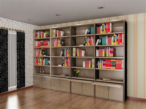 Modern Bookcase With Doors Modern Bookcase With Doors Home Design By Larizza