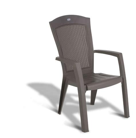 allibert minnesota chaise empilable cappuccino allibert