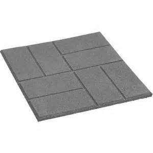 Patio Stones Rona by Square Rubber Patio Slab Rona