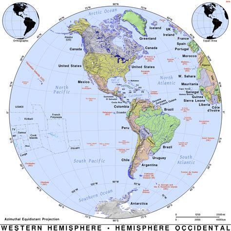 map of the western hemisphere world map 07