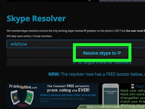 Skype Ip Address Finder How To Find The Ip Address Of A Skype User With Pictures