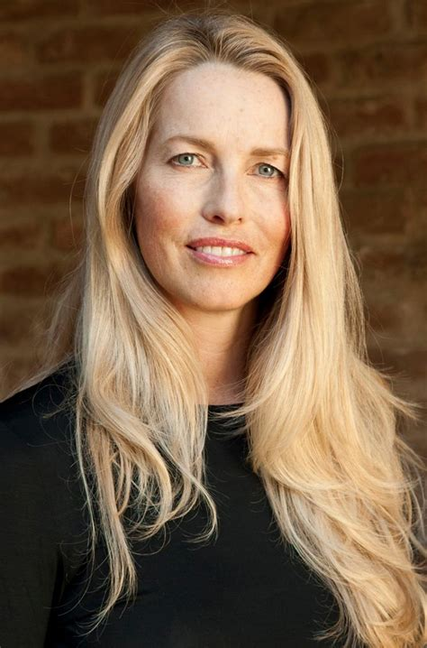 is a 49 yr old woman with a short pixie haircut attractive laurene powell jobs family forbes