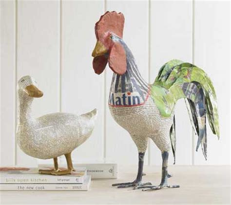 How To Make Paper Mache Animals - fabulous find friday archives design chic design chic