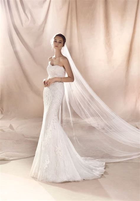 WHITE ONE SELENE Wedding Dress   The Knot